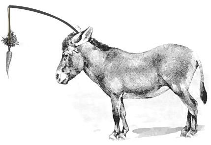 Der Esel, der Vater und der Sohn - Zeitblten